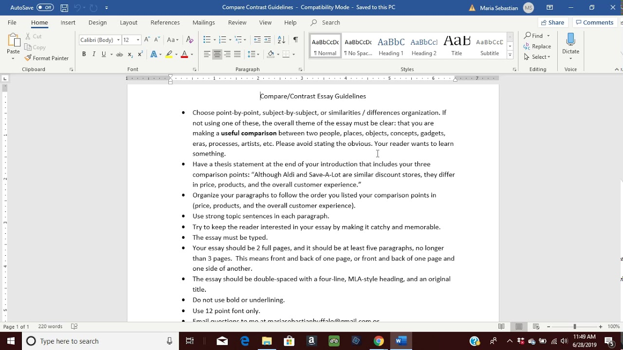 how to write a thesis statement for a compare  contrast essay   youtube how to write a thesis statement for a compare  contrast essay