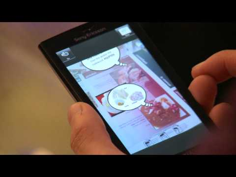 Augmented Reality at a restaurant