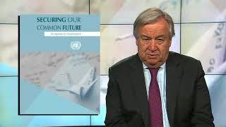 Глава ООН — о начале осуществления повестки дня в области разоружения