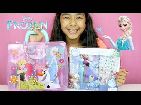 Frozen Kids Activities Kit Frozen Toys  B2cutecupcakes