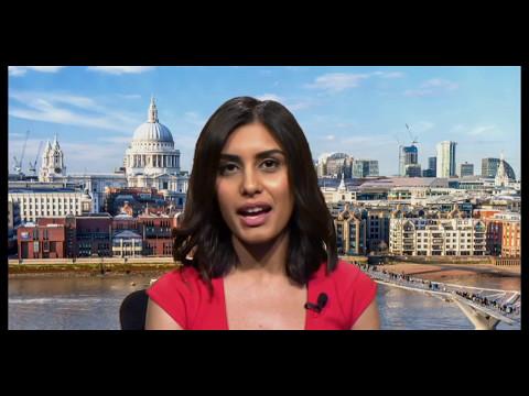 The Gender Pay Gap on Britain Today Tonight. Blocked in UK/copyright. Kayvan Novak, Anila Dhami.