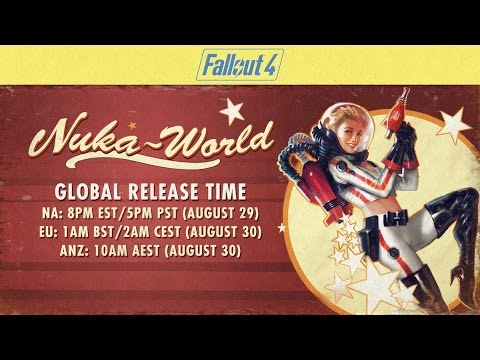 Nuka World is being Released TODAY - Fallout 4 Nuka World News (PC/Xbox One)