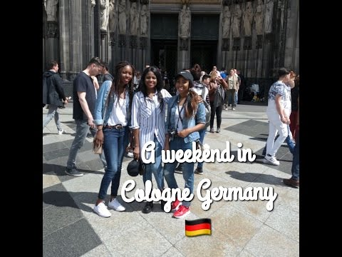 TRAVEL VLOG- GIRLS TRIP TO COLOGNE GERMANY FOR THE WEEKEND