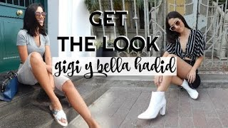 GET THE LOOK BELLA Y GIGI HADID l Marana