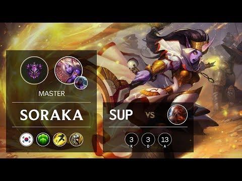 Soraka Support vs Gragas - KR Master Patch 9.24
