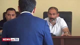Նիկոլ Փաշինյանը բարկացավ Գորիսի քաղաքապետի վրա