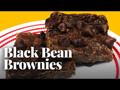 How to Make Brownies Using Black Beans!