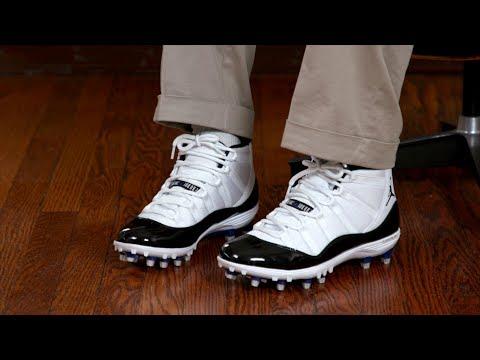 Shoe Hack: Jordan 11 Cleats As Shoes