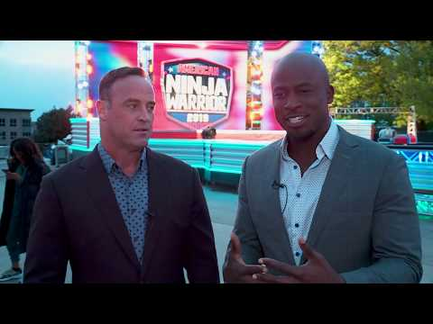 TJ, Janet & JRod - Check Out TJ Trying Out For American Ninja Warrior
