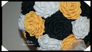 Делаем цветы из гофрированной бумаги(Хотите сделать цветы их гофрированной бумаги? Предлагаю сделать красивые розы или даже букет роз! Как сдела..., 2014-08-03T13:25:42.000Z)