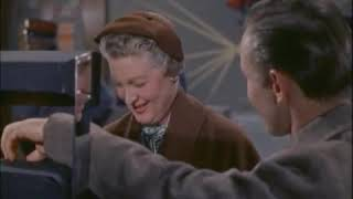 Eleanor Audley Dies(!) in a Plane Crash in 1959's The FBI Story (with Jimmy Stewart)