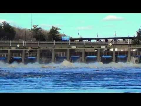 Wisconsin River Flood Wisconsin Dells, WI