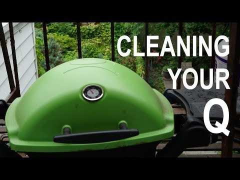 Avoid Grease Fires! How To Clean Your Weber Q