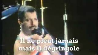 Queen Under Pressure (french traduction)