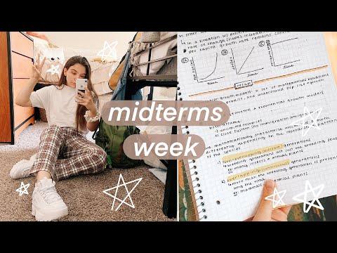 College Midterms Week