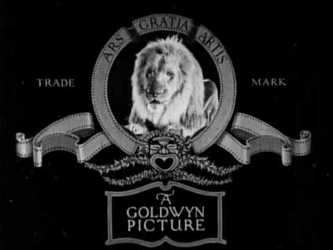 Goldwyn Pictures Lion - 1923