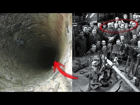 Heres what Hides At The Bottom Of The DEEPEST Hole On EARTH...