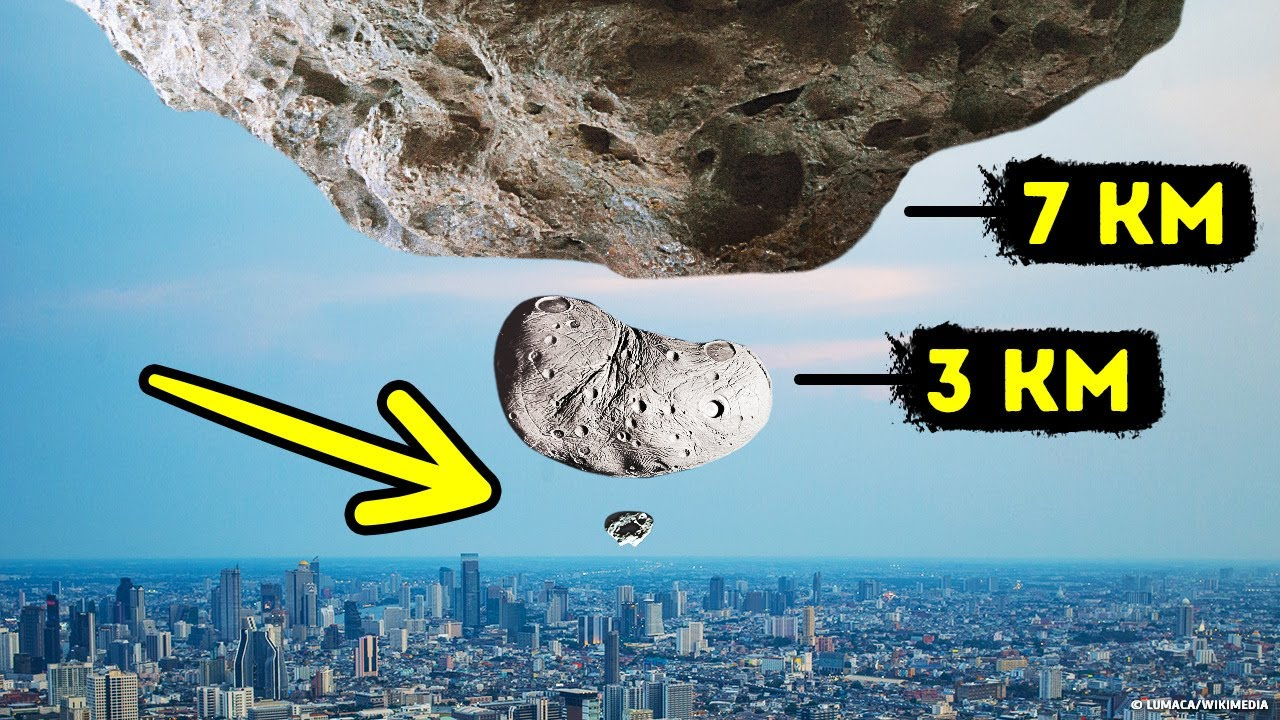 11 Asteroids Getting Nervously Close to Earth