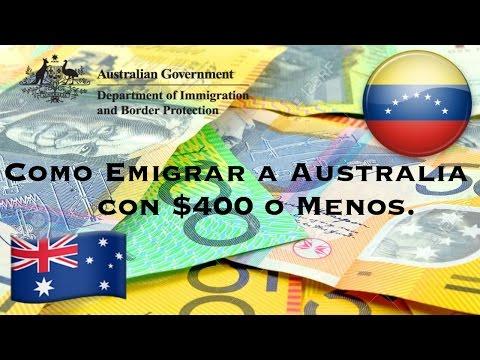 Como Emigrar a Australia con  $400 o Menos y sin Ingles. | Vivir, Trabajar, Estudiar en Australia.