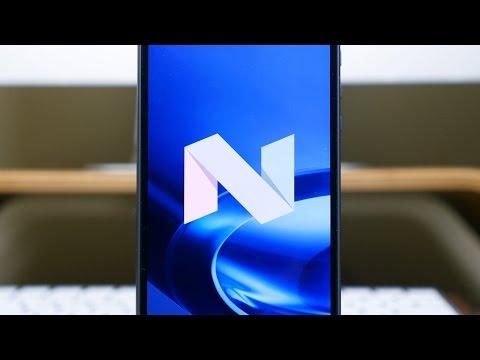 Android 7.0 Nougat on Motorola Moto Z