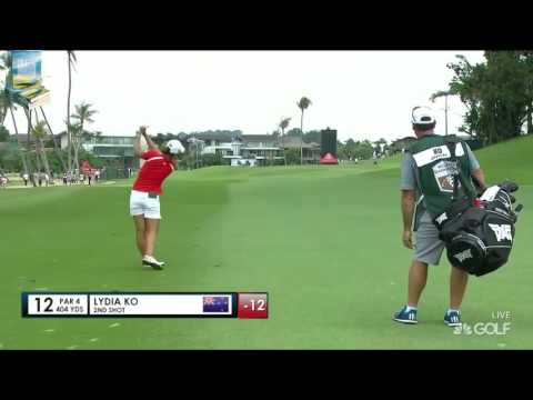 Lydia Ko's Best Golf Shots 2017 HSBC Womens Champions LPGA Tournament
