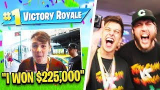 FaZe Reacts to FaZe Mongraal Winning $225,000 at Fortnite World Cup!!