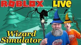 🔴 Roblox Live 🧙 ♂️ Wizard Simulator - Plus d'albums