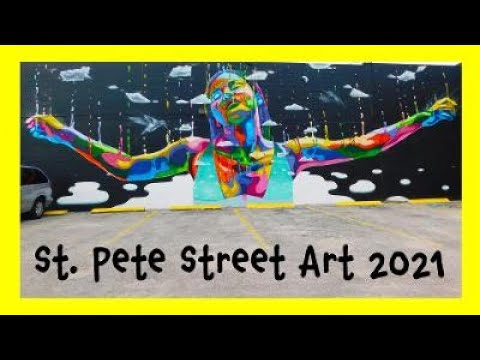 St. Petersburg Street Art 2021