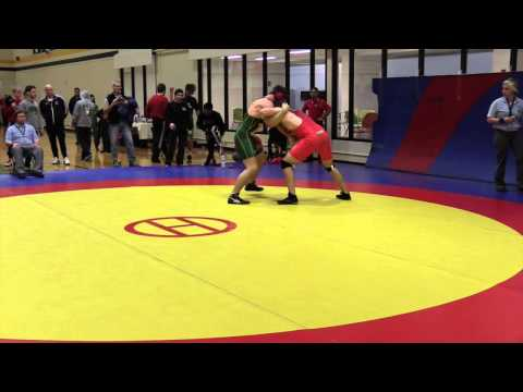 2015 Golden Bear Invitational: 82 kg Steven Sheppard vs. Clayton Brinker