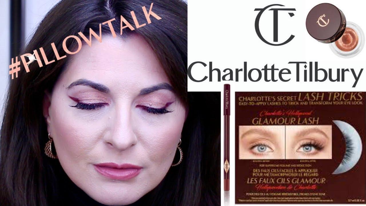 new pillow talk eyeliner from charlotte tilbury makeup look charlotte tilbury false lashes review