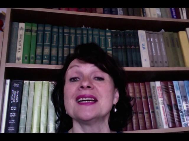 Изображение предпросмотра прочтения – НатальяЖукова читает произведение «Последняя любовь» Ф.И.Тютчева