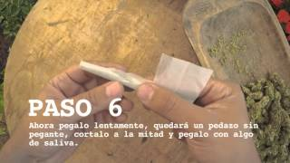 Fumigami. Paso a paso como hacer una L. How to make an L joint.