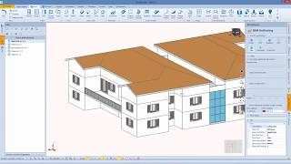 Edificio 4: copertura a padiglione e terrazzi con Blumatica BIM ArchIT (it)