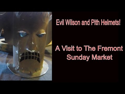 Evil Wilson, Pith Helmets - A visit to the Fremont Market