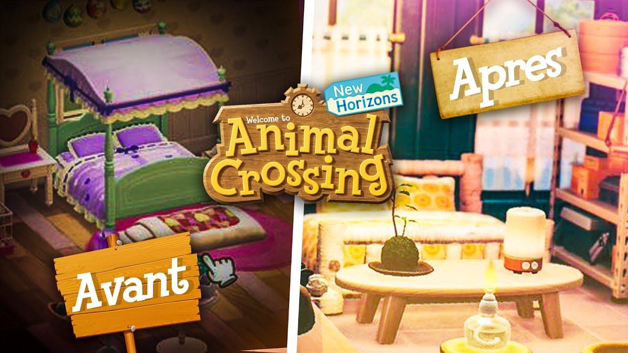 Ma nouvelle chambre    IDÉES DÉCORATION sur Animal Crossing New Horizons  Nintendo SWITCH   Ultia