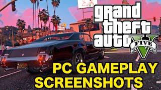 GTA 5 on PC: Gameplay in 4K Resolution! (GTA V PC 4K Screenshots)