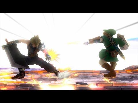 Super Smash Bros WiiU   CLOUD VS LINK   Gameplay 1080p 60fps