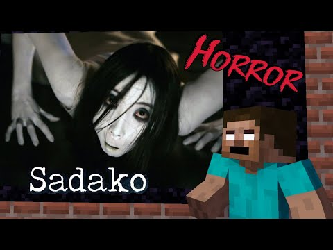 Monster School : SADAKO HORROR MOVIE CHALLENGE - Minecraft  Animation