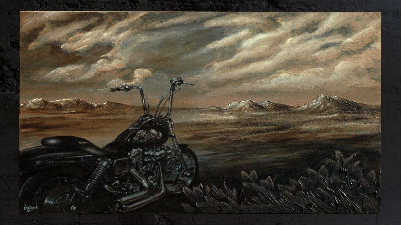 motorcycle canvas by morgan designs youtube