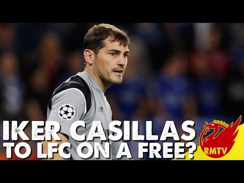 Iker Casillas To Liverpool On A Free? | Daily News LIVE