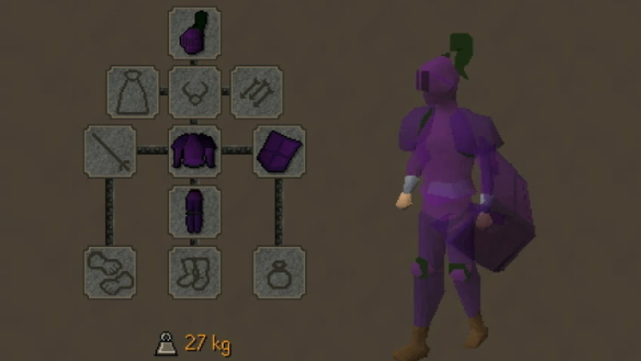How To Unlock Secret Armour In Osrs Youtube