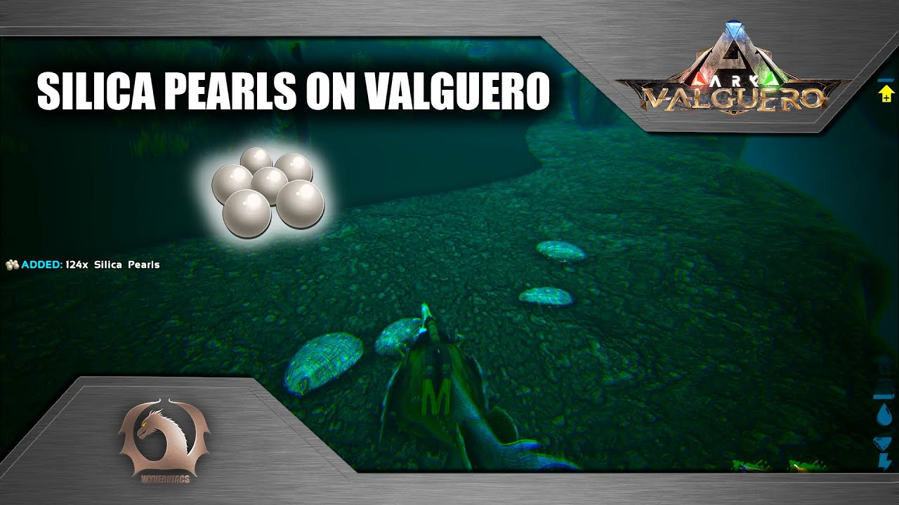 Ark Survival Evolved Silica Pearls On Valguero Map Youtube Survival evolved who play on the pc are in for a real treat, as studio wildcard has released a new expansion map named valguero. this new content adds a large, diverse map to explore with exotic biomes, new encounters, titanic boss arena battles, mysterious ruins, unexplored. ark survival evolved silica pearls on valguero map