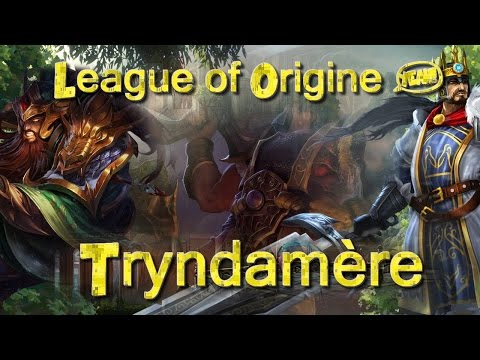 Les Origines de Tryndamère -  Conan le Barbare ?