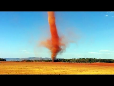EXTREME DIRT DUST DEVIL / LANDSPOUT 2016!! - YouTubeDust Devil Tornadoes