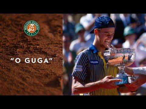 """O Guga"" - The legendary victory of Gustavo Kuerten in 1997 I Roland-Garros"