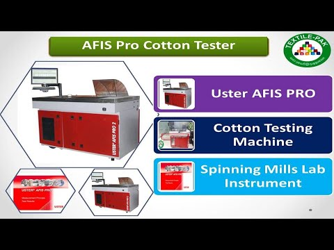 Spinning Lab Test : AFIS Pro.2 Operates,Sliver Tester Instrument,Cotton Tester, Textile Pak