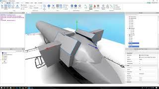 ROBLOX - Costruire il naso Avro 146 Parte2