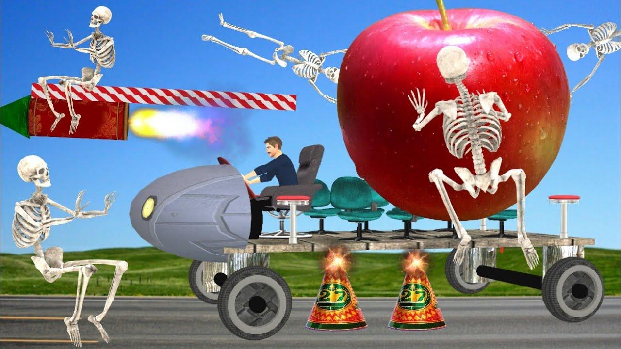 जादुई दीवाली सेव और चारपाई कार 3D Hindi Kahaniya Diwali Apple Bed Car Bed Time Stories हिंदी कहानिया