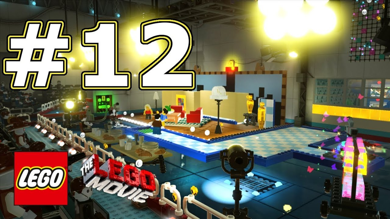The LEGO Movie Videogame Walkthrough - Level 12: Broadcast News!