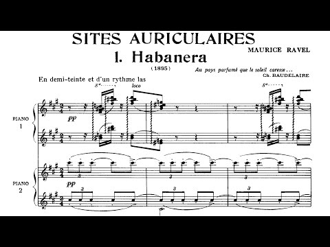Maurice Ravel - Sites Auriculaires (1895/1897)